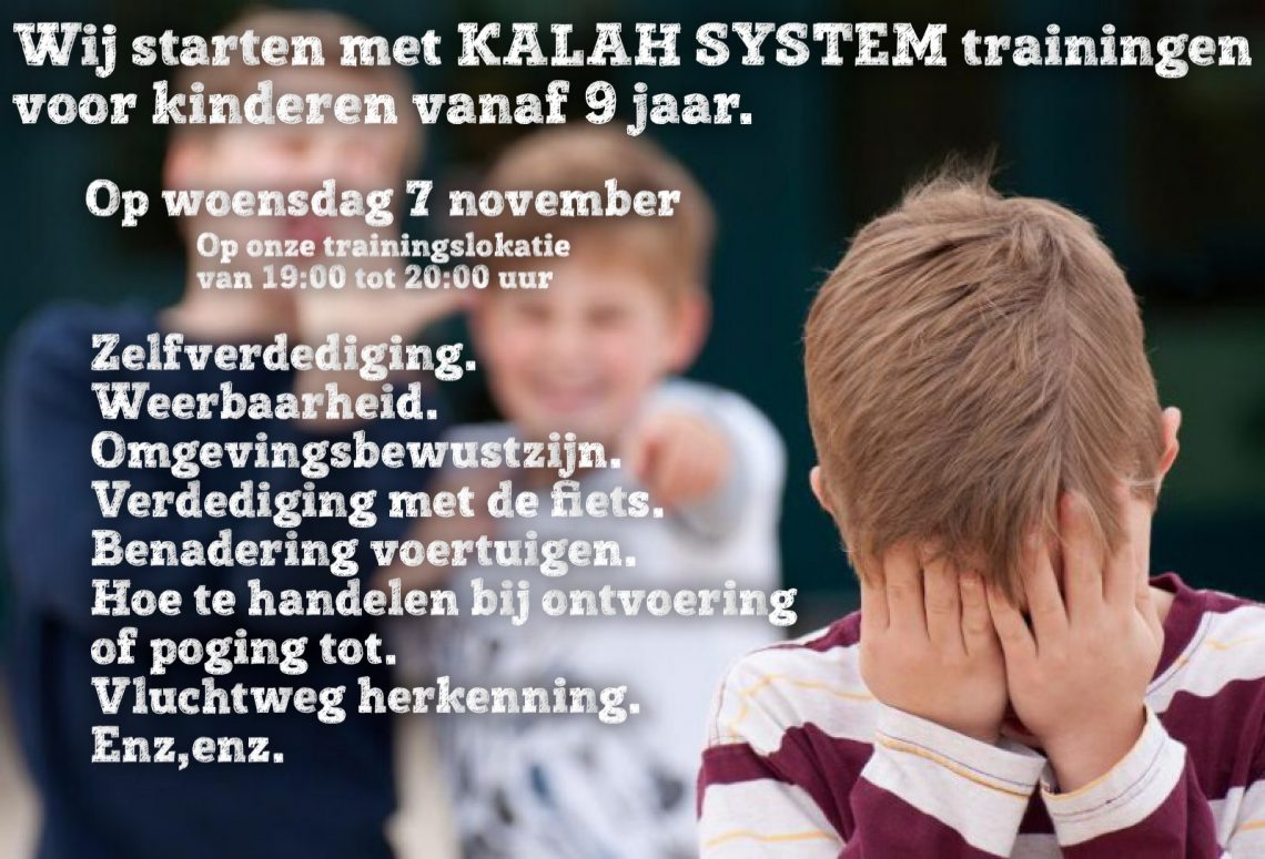 Start kindertrainig in KALAH System.